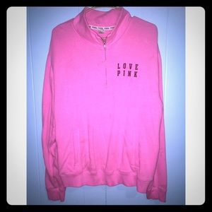 Victoria Secret PiNK pull over size large